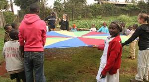 Kenya-Parachute