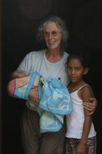 Debbie with Debbie and Littler Debbie, Nicaragua August 2015